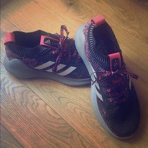 Men's Adidas purebounce+ shoes, size 8.5